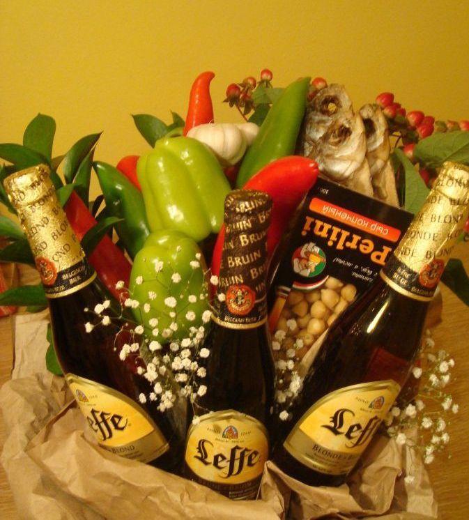 Как сделать пиво в подарок